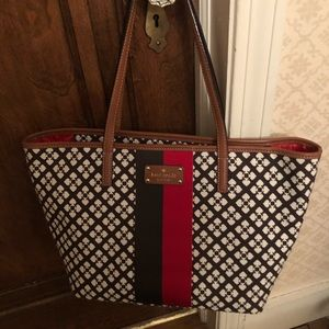 New List 🌸Canvas pattern Kate Spade tote bag